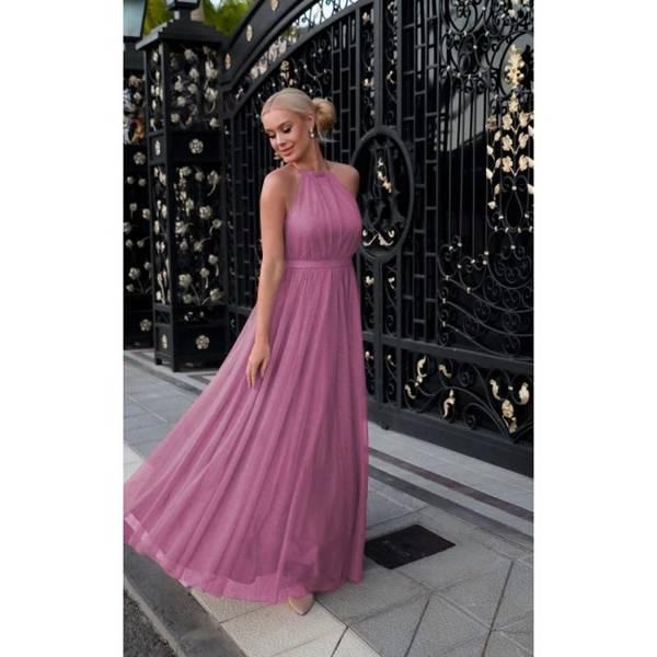 Sukienka - OLA - PUSTYNNY RÓŻ