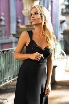 Sukienka  MELANI- czarny