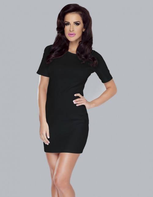 whitney mała czarna sukienka ołówkowa do pracy