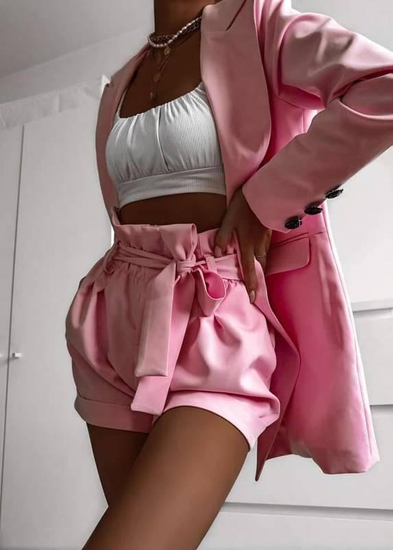 Set Elegant Komplet- pink