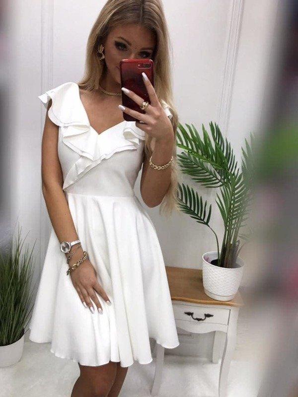 Sukienka FLORENTYNA- biały