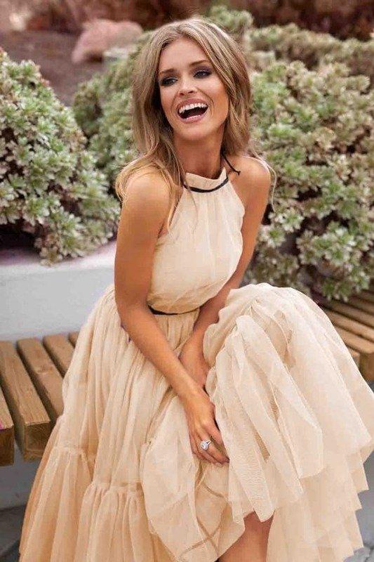 Sukienka LARA- beż